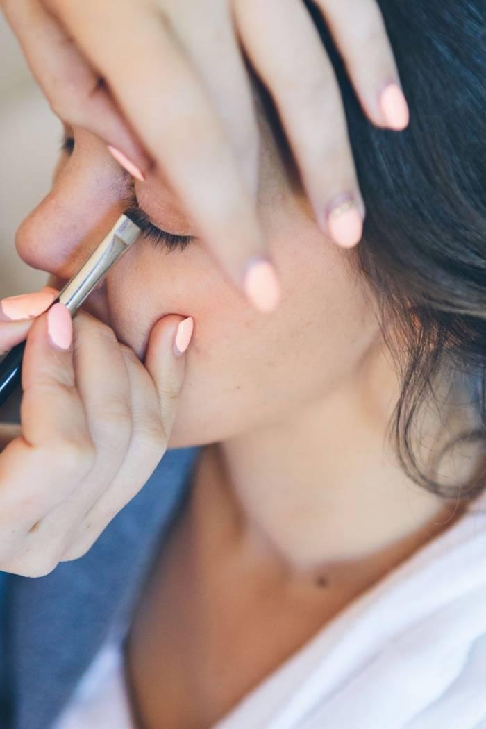Make-up close up